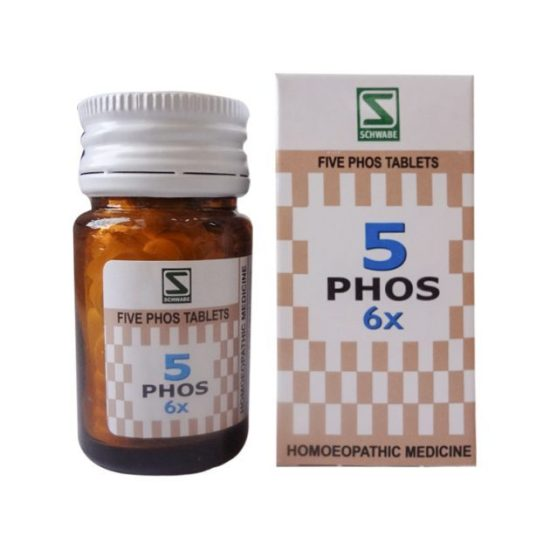 Buy Schwabe Five Phos Tablets 3x, 6x – General Tonic for Nerves