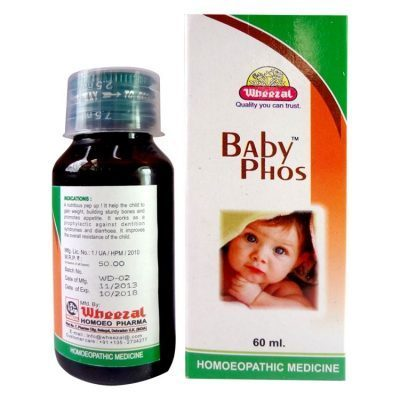 Buy Wheezal Baby Phos, a restorative tissue tonic for babies: Homeopathy medicine